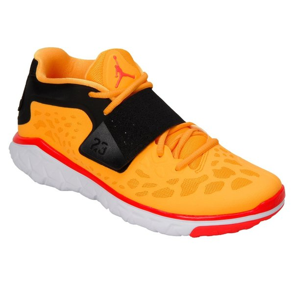 Men's Jordan Orange/Black Flight Flex Trainer 2 Shoes